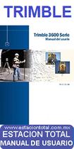 manual de usuario fichas tecnicas y programas para estaciones totales trimble