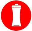 Symbol Trinkflasche