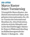 Akatsuki Dojo Karate MMA (Marco Kuster IBJJF Open Zurich)