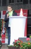 Brigitte Scherb eröffnet die LandFrauen Aktionstage in Soest (Foto:D.Mathes)