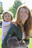 Mijn dochter en ik, alweer 5 jaar geleden