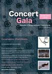affiche concert de Gala 2014
