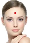 CHRONIQUES_Recettes santé les Marmas du visage 8 par atelier-shanti : Au centre du front pour mieux vous concentrer