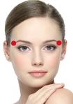 CHRONIQUES_Recettes santé les Marmas du visage 9 par atelier-shanti : A l'extrémité des sourcils pour reposer vos yeux