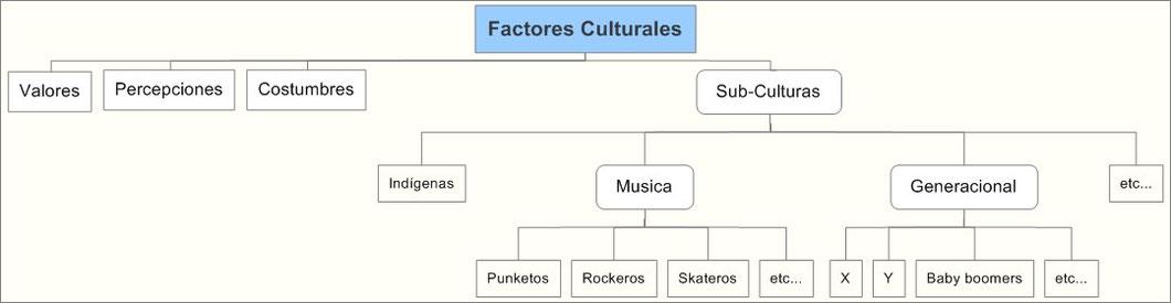 Factores culturales del consumidor