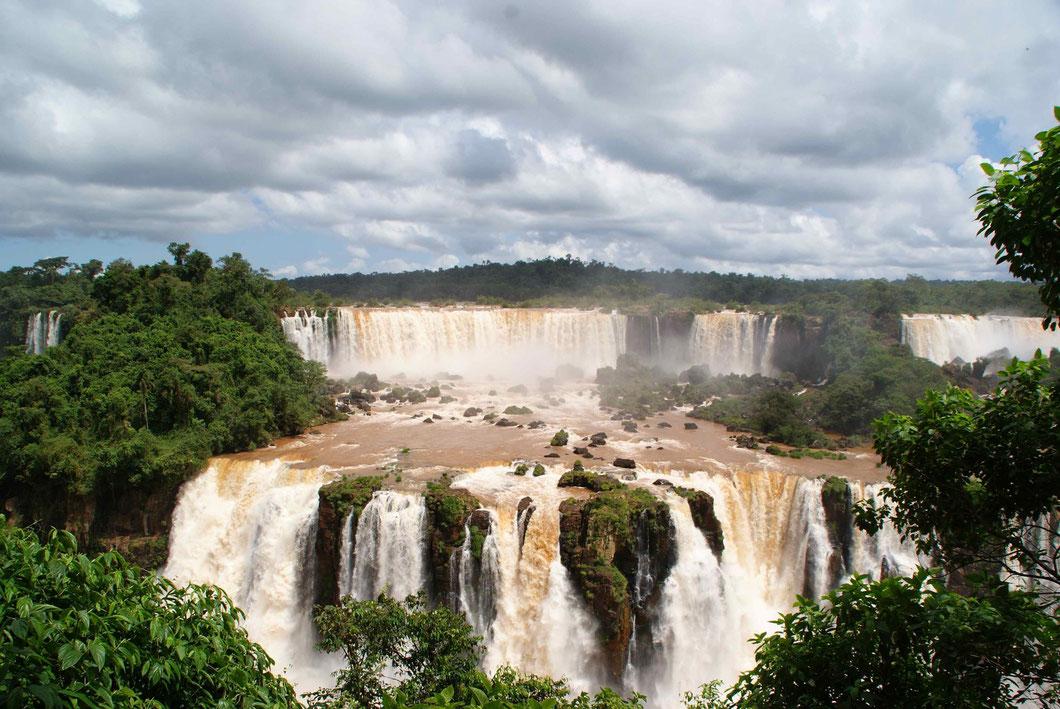 Iguazu Fälle, Brasilianische Seite
