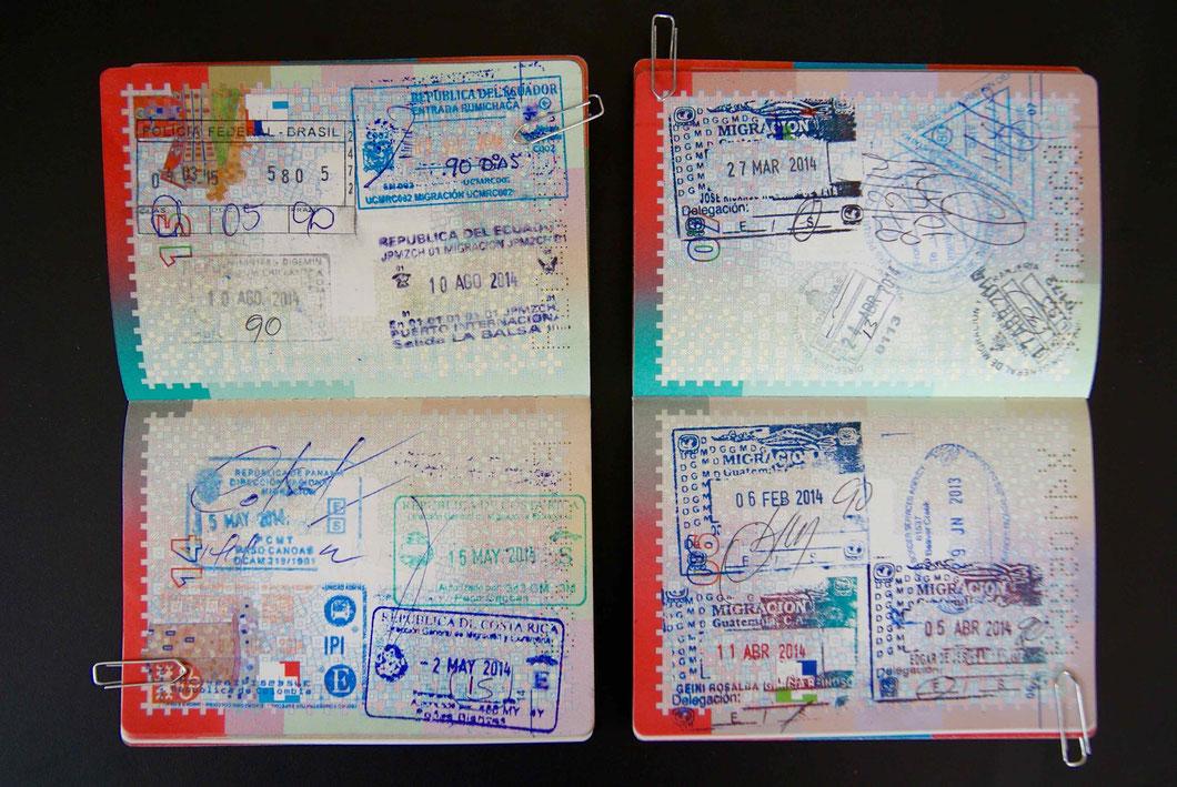 Extrait de nos passeports suisses.