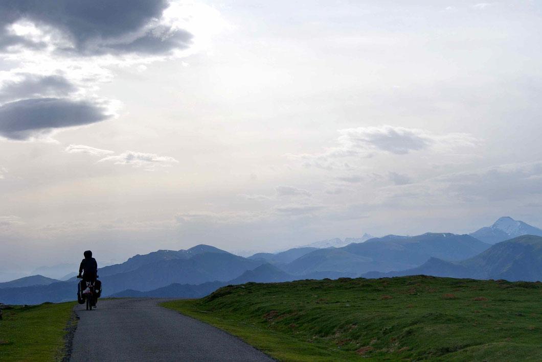 Die Überquerung der Pyrenäen.