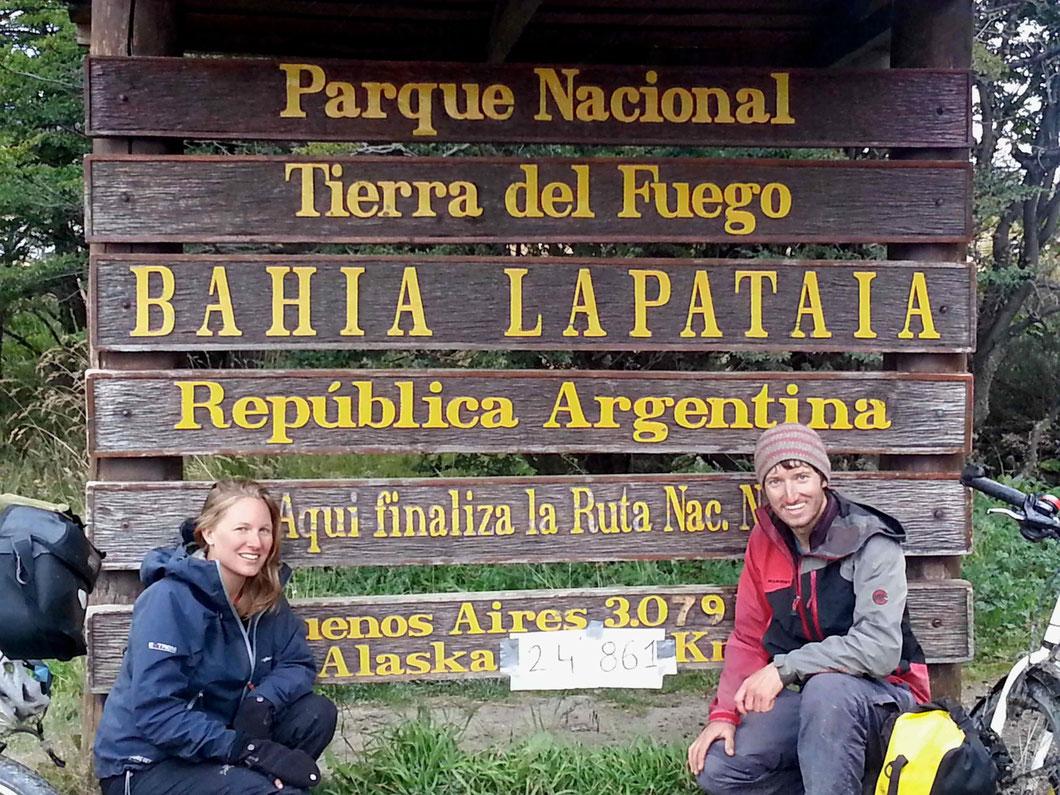 Von Alaska nach Ushuaia, 24'861 km.