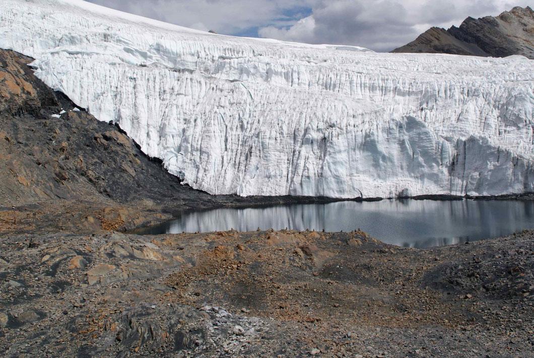 Gletscher Pastoruri, 5'000 Meter über Meer