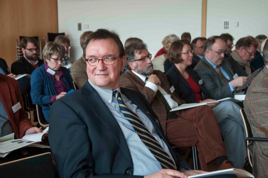 """Bischof Dr. Martin Hein: """"Glaubt ihr, so bleibt ihr"""" (Foto: Karl-Günter Balzer)"""