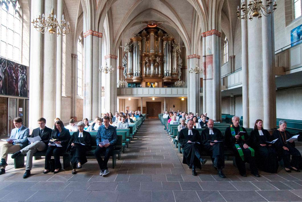 Festgottesdienst in der Lutherischen Pfarrkirche St. Marien (Foto: Karl-Günter Balzer)