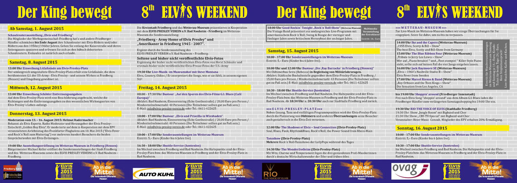 Elvis Weekend Friedberg