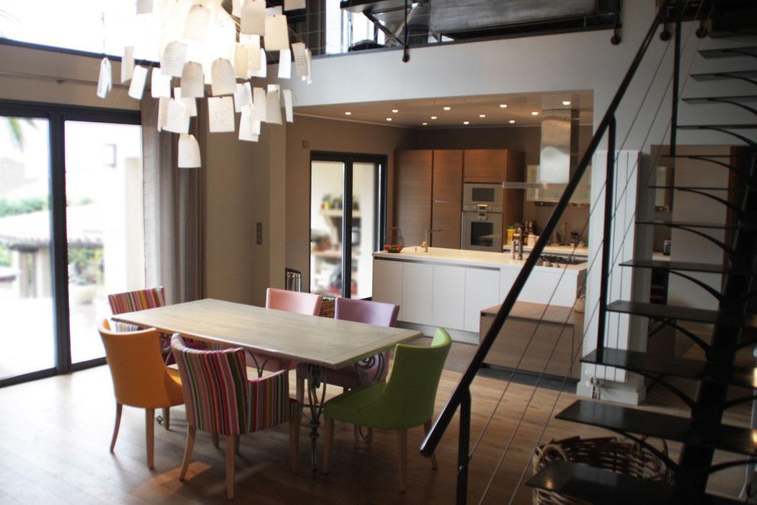 Une salle à manger campagne chic - imAgs...aménagement ...