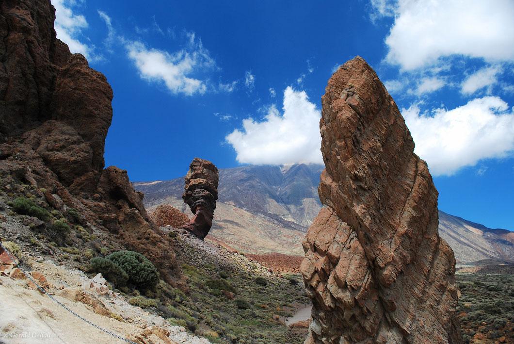 Pic Teide Tenerife : univers minéral dans cette caldeira est omniprésent quelque soit la direction que nous prenons