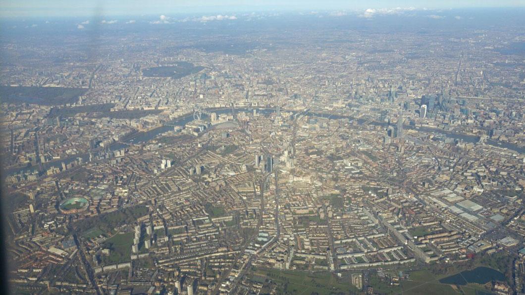 London von oben, Quelle: Sebastian Hoff