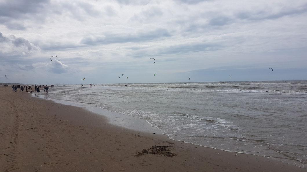 Strand von Noordwijk aan Zee/Niederlande