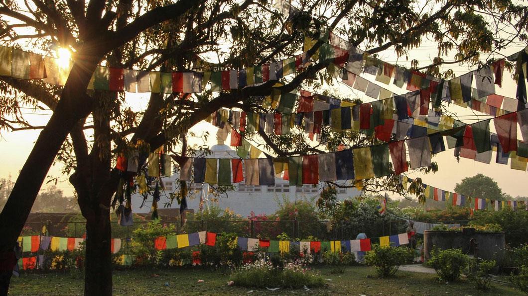 Lumbini, Maya Devi Tempel - der Geburtsort Buddhas