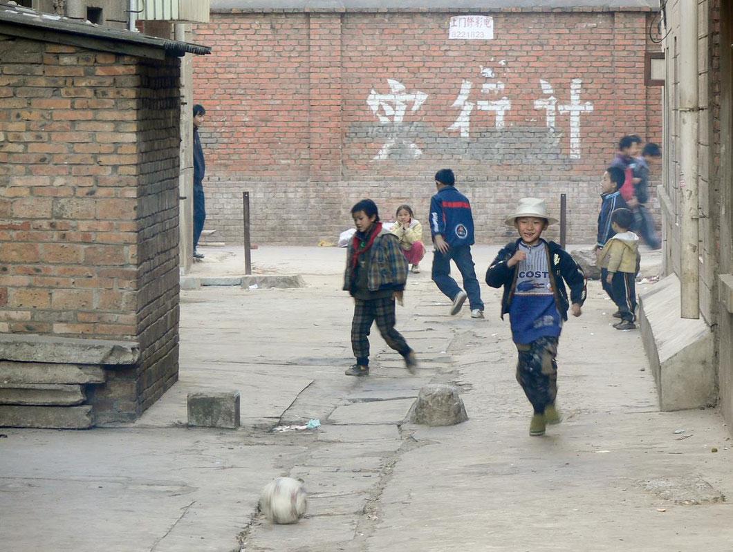Straßenszene in Kunming