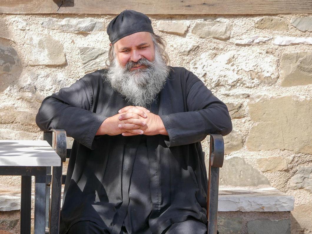 Bilderbuch Mönch: langer Bart und dicker Bauch :-)