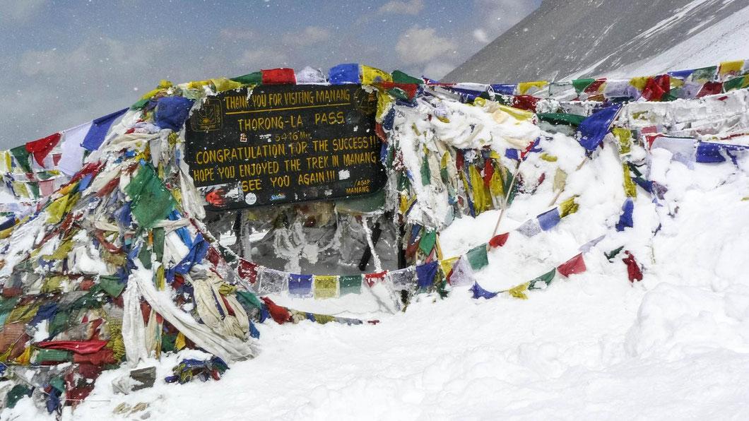 Nepal, Annapurna, Trekking, Thorong La