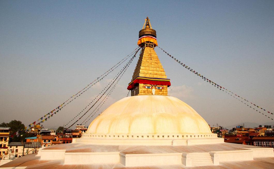 Bodnath Stupa, Kathmandus größter und magischster Tempel
