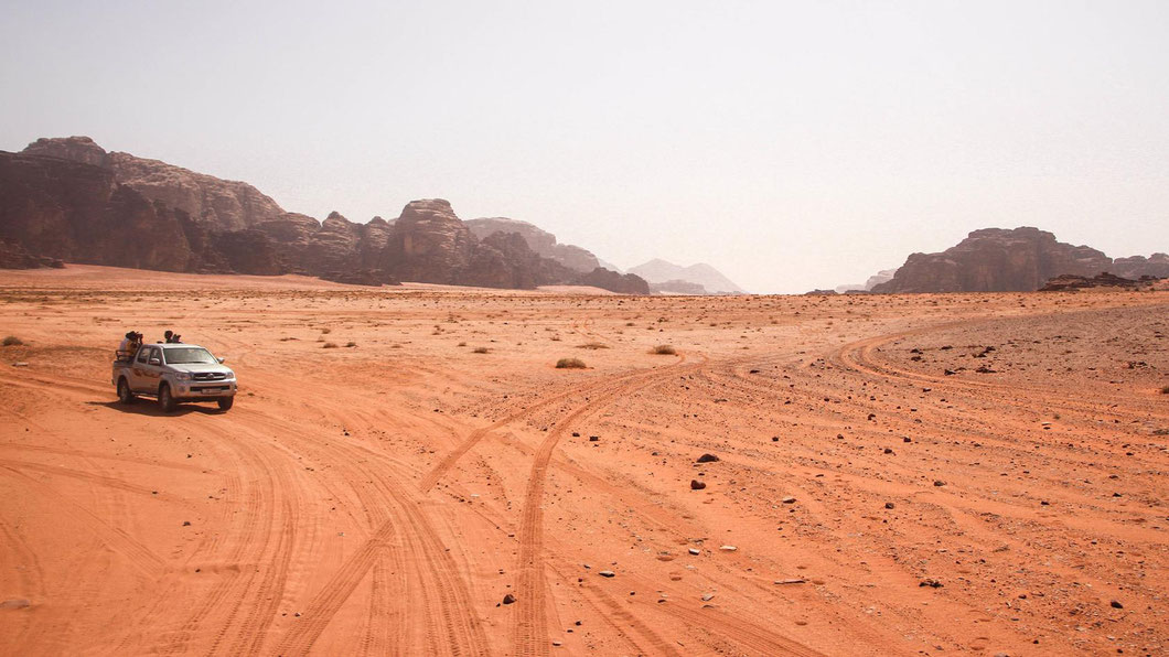So sehen Straßen in Arabien aus.