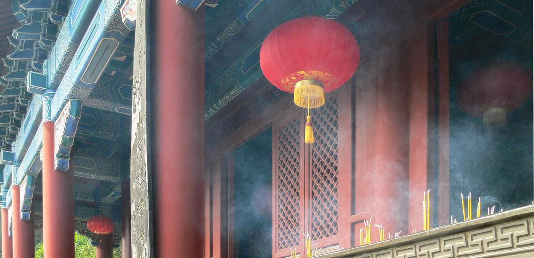 Tempel in der Nähe von Guangzhou