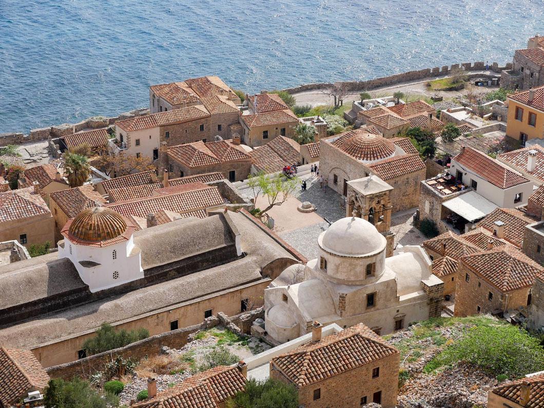 Momevasia mit seiner Bilderbuch Altstadt