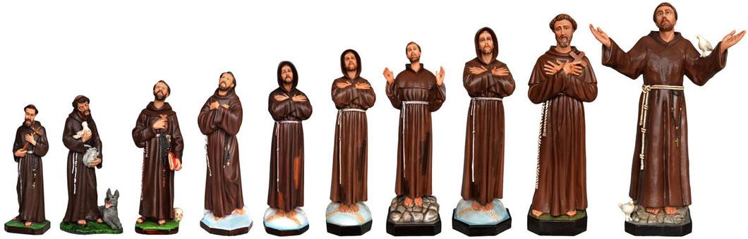 statue San Francesco d' Assisi - Prezzi da € 38