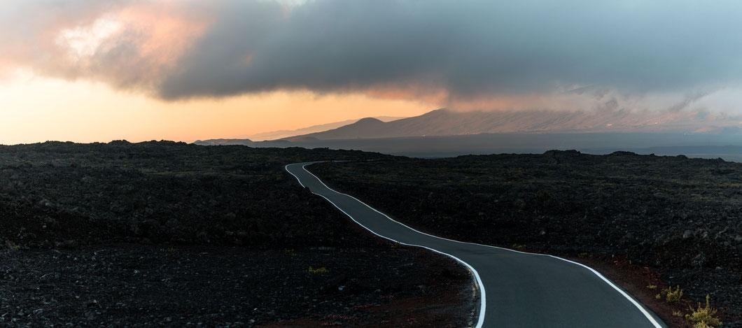 Access road to Mauna Loa, Hawai'i Island, Hawai'i