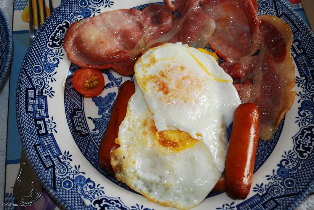 Irish Breakfast dans le comté de Wicklow en Irlande