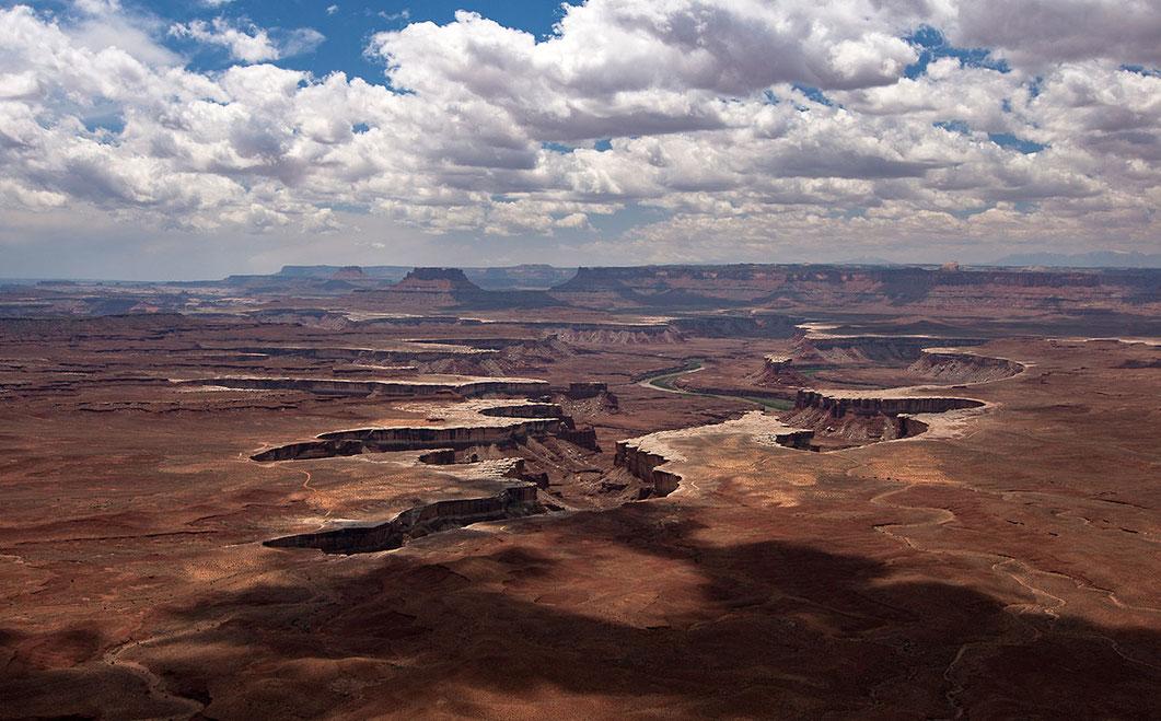 Canyonlands in the Glen Canyon National Park, Colorado River, Arizona, USA, 1280x795px