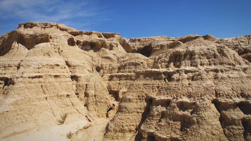 bigousteppes désert espagne bardenas
