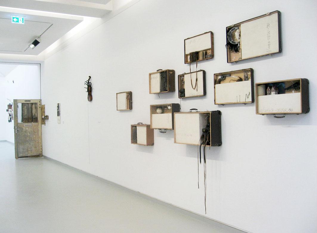 Kunst Koffer Installation