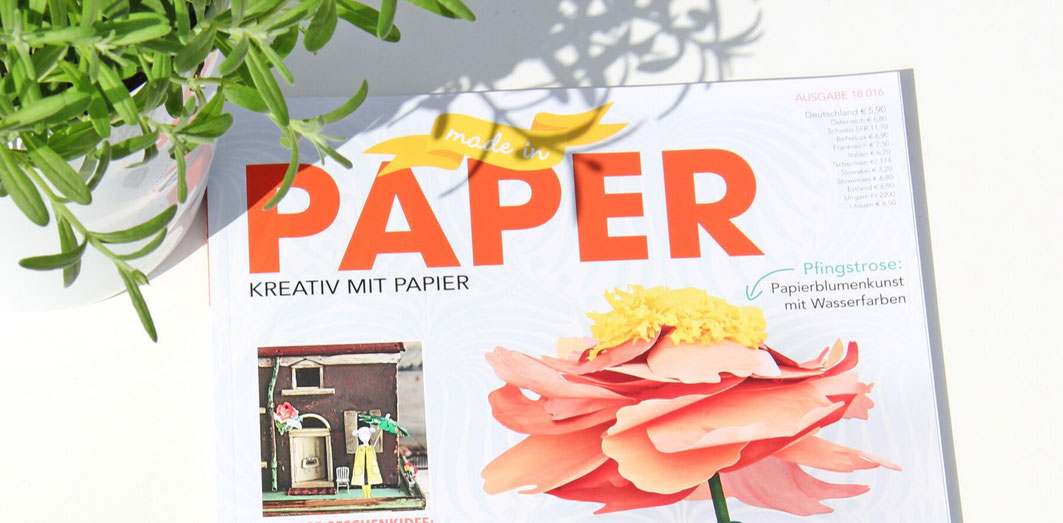 made in paper magazin