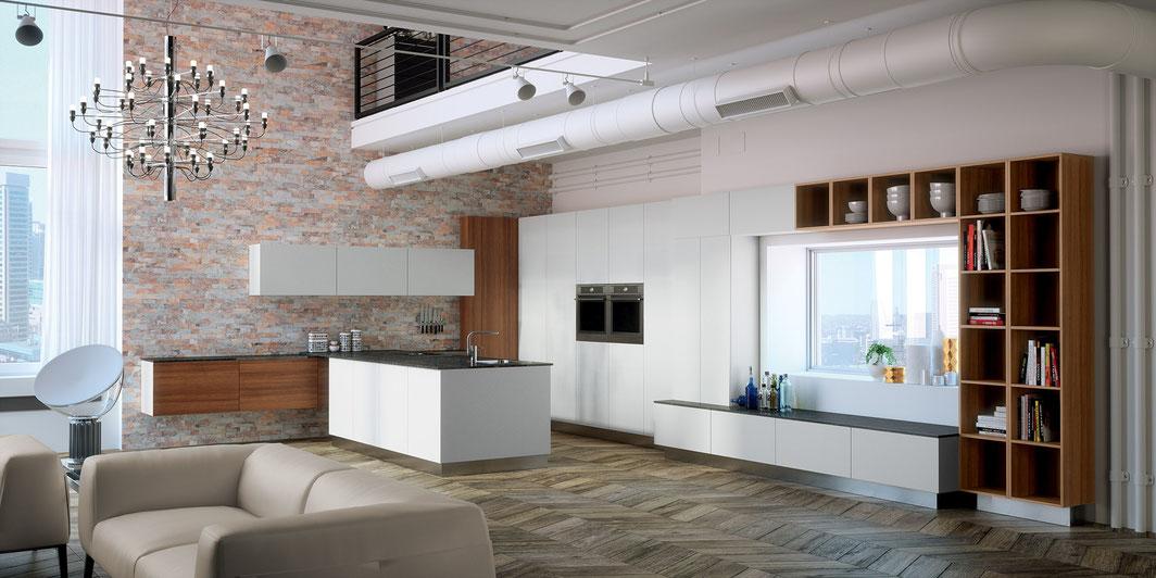 Perfekt geplante Küchen von Wohndesign-Fuchs - Klosterneuburg