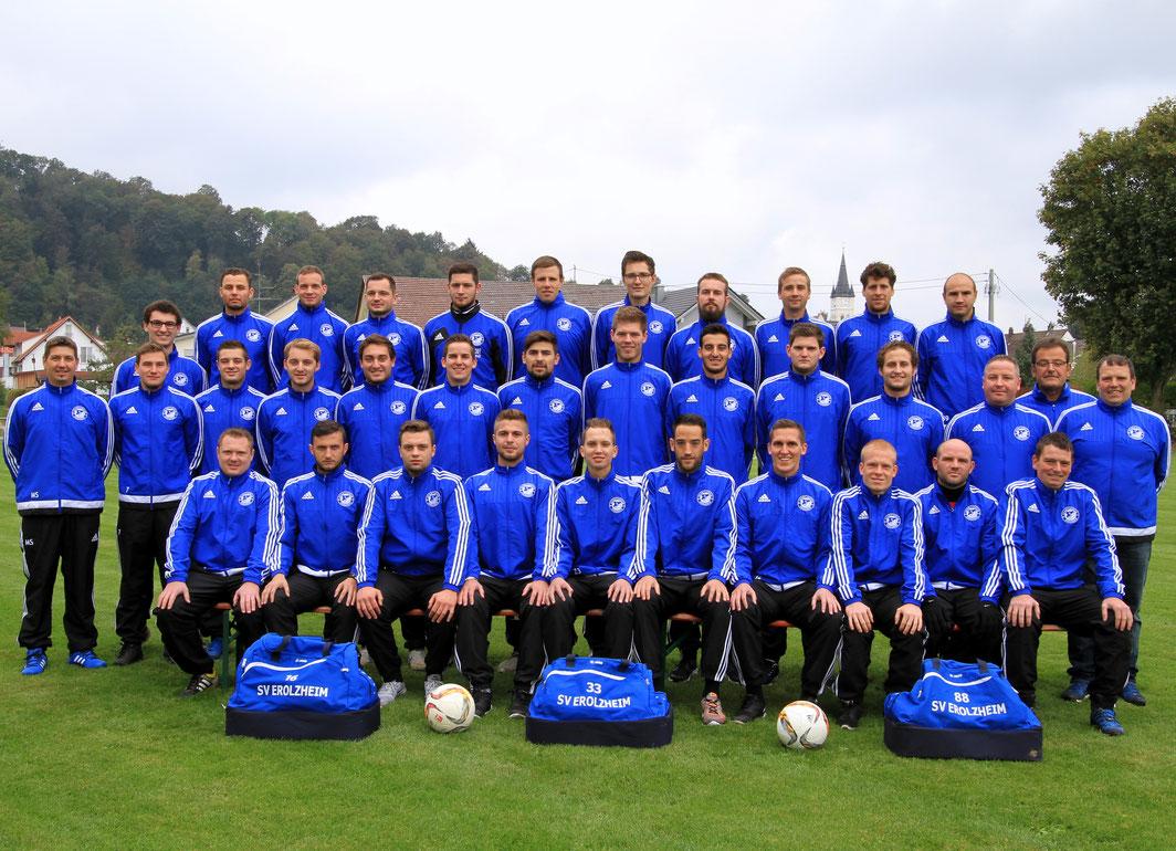 Mannschaftsfoto Saison 2016/17