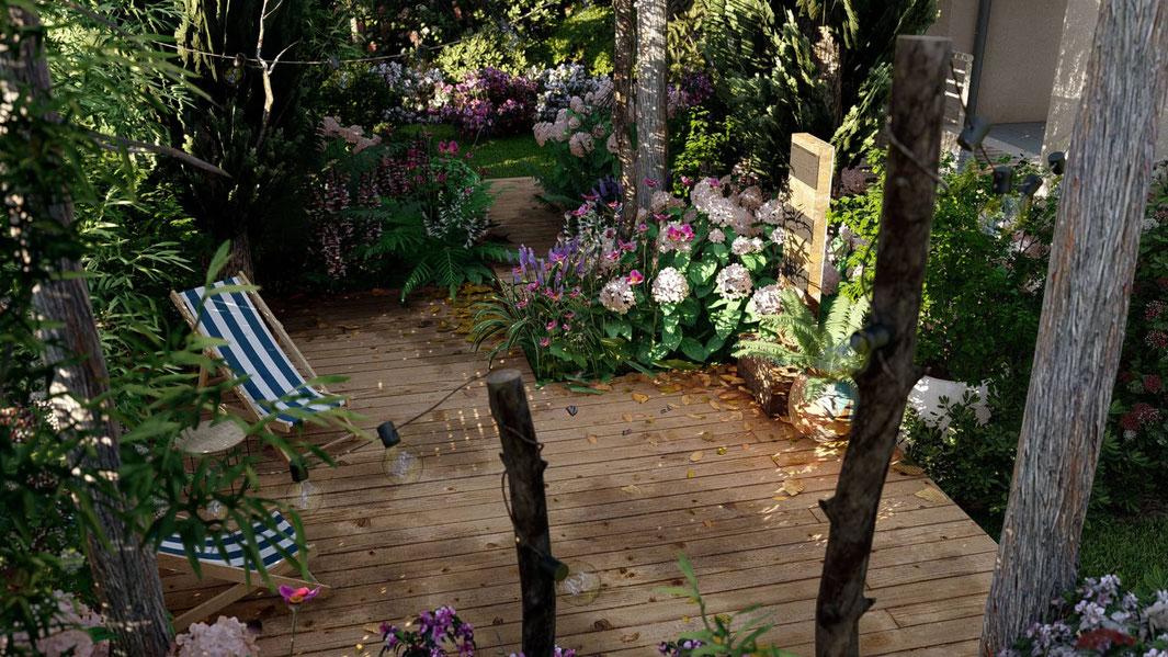création jardin exotique antibes