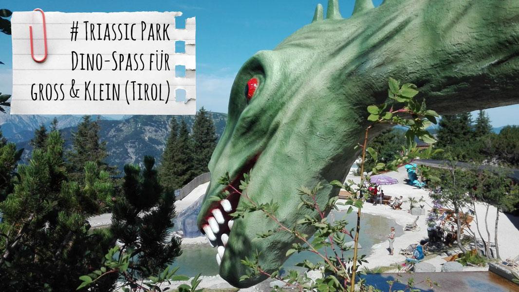 Triassic Park, Steinplatte, Dinosaurierpark