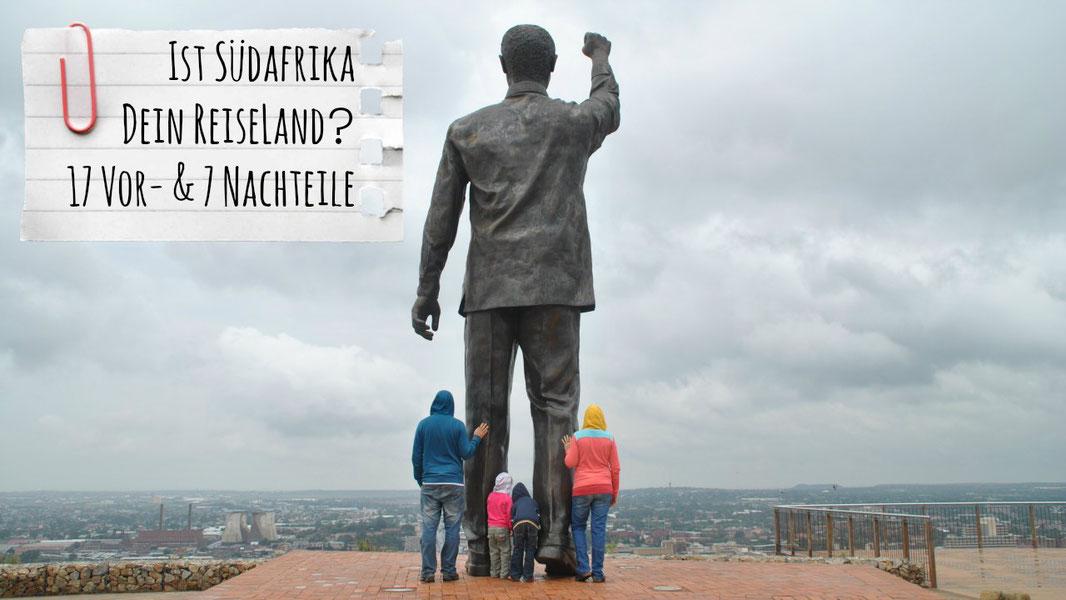 Südafrika-Reise, Südafrika Rundreise, Südafrika mit Kindern, Südafrika Pro Contra