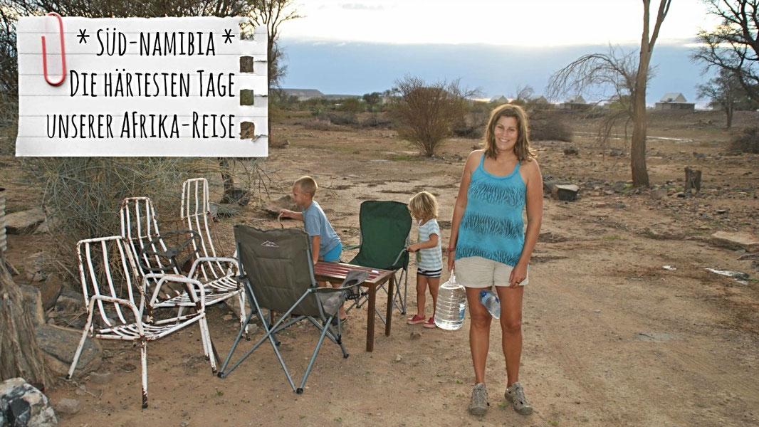 Südnamibia, Namibia mit Kindern, Ais-Ais, Fish River Canyon, Alte Kalköfen