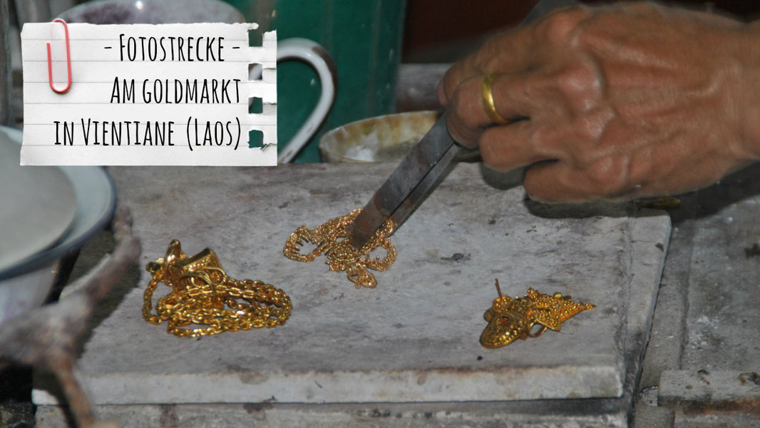 Goldmarkt Laos