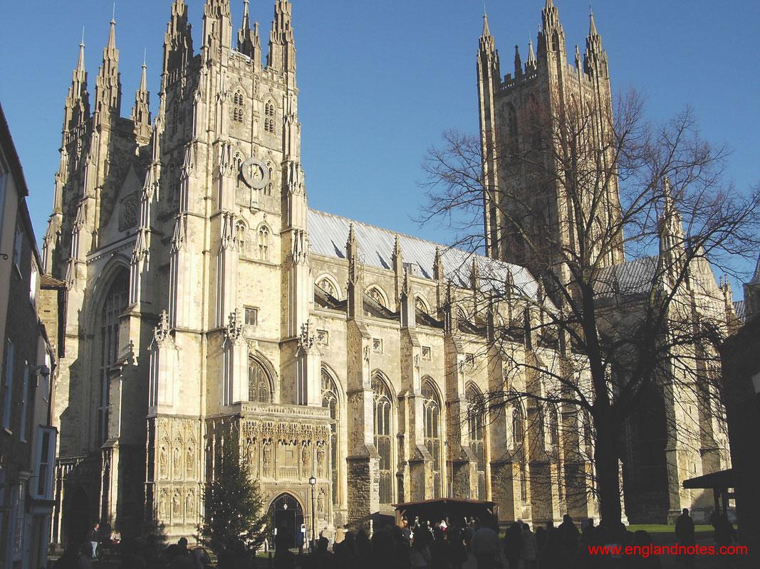 Sehenswürdigkeiten und Reisetipps Canterbury, England: Die Kathedrale von Canterbury