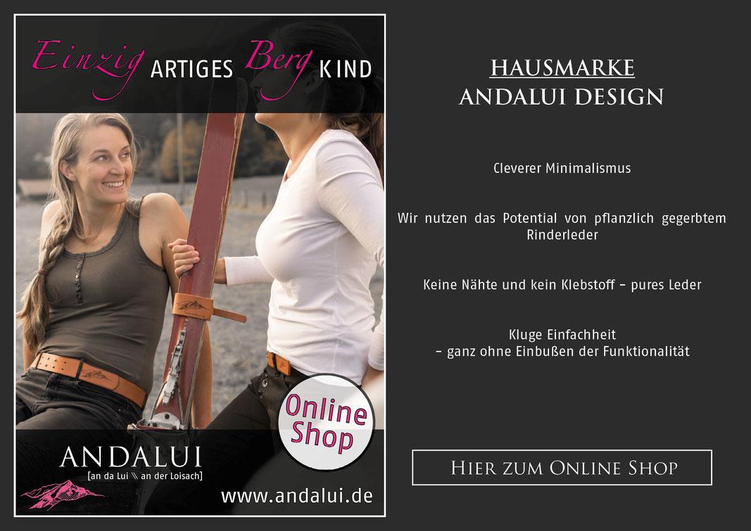 Hausmarke Andalui Design www.andalui.de