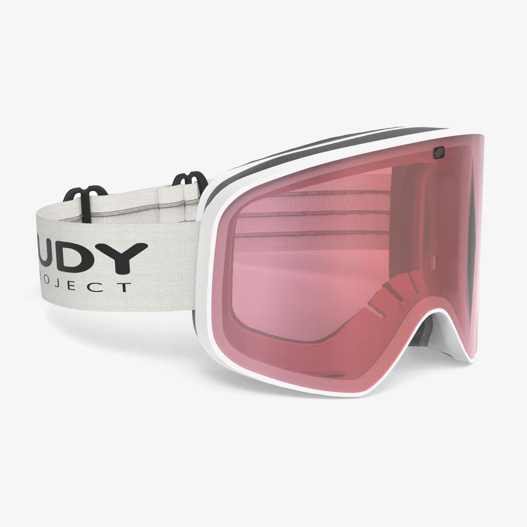Rudy Project Skermo White Matte Laser Kayvon Red