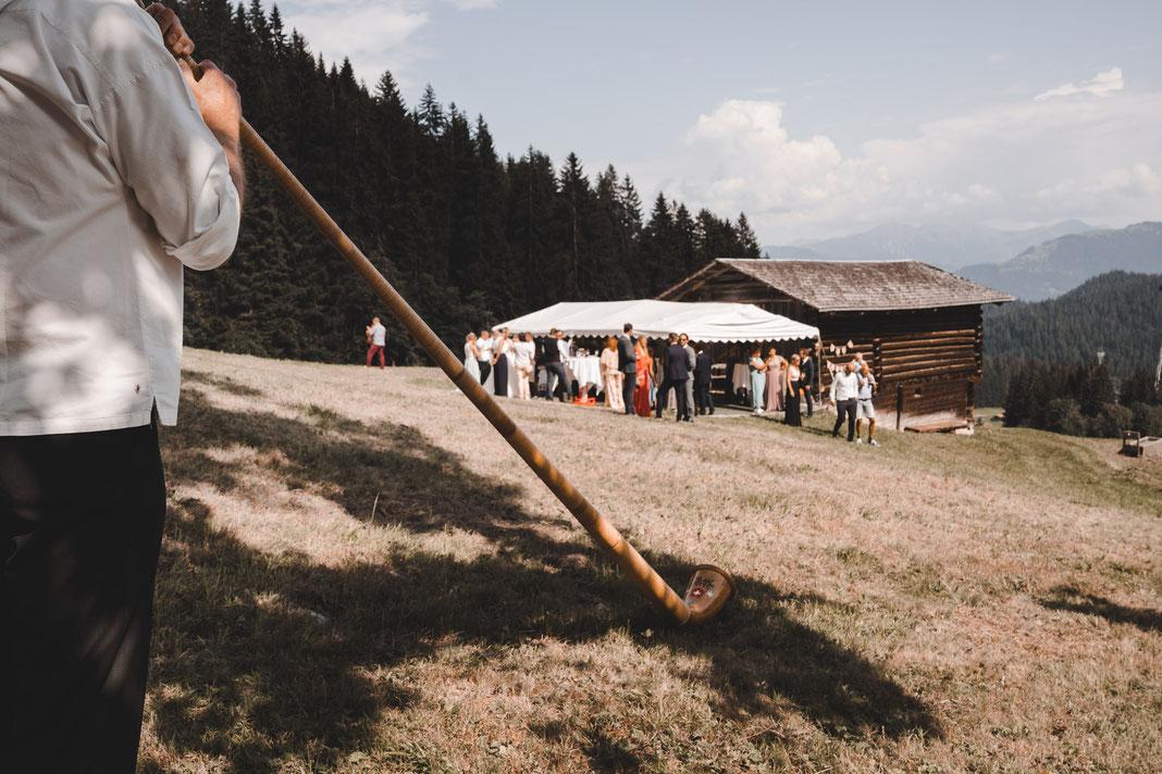 Alphornbläser Hochzeit