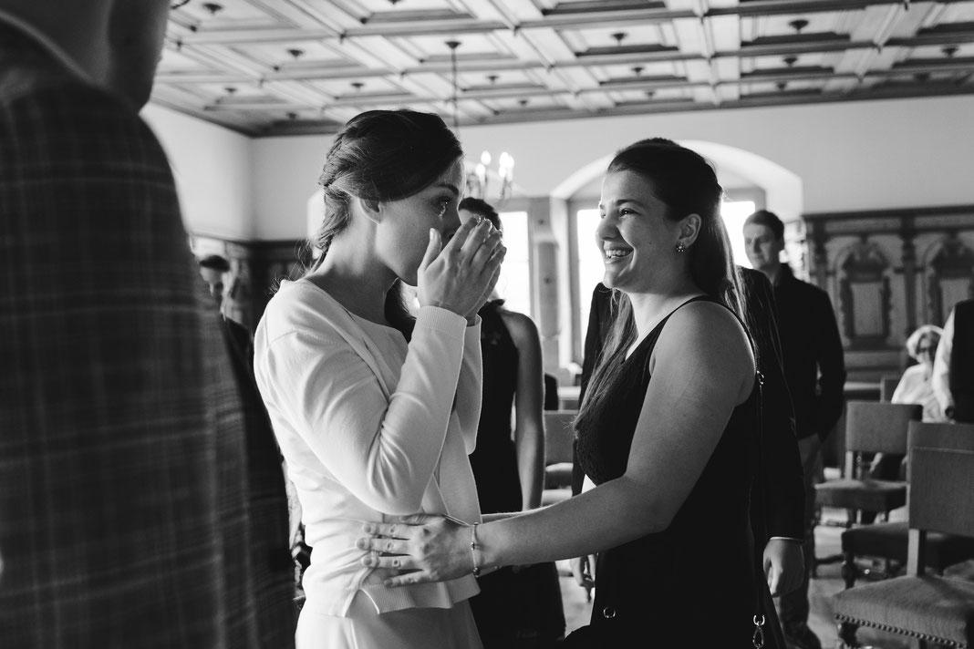 Freudentränen Hochzeit