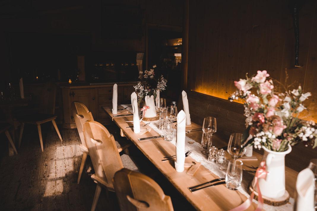Tegia Larnags Hochzeit