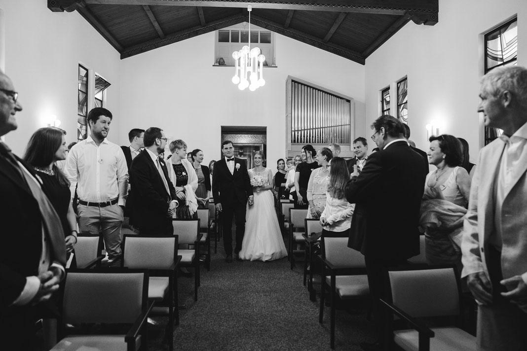 Eintreffen Bräutigam